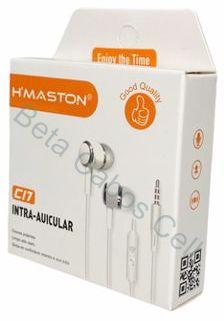 Fone Hmaston P2 Intra-auricular Stereo H'MASTON C17