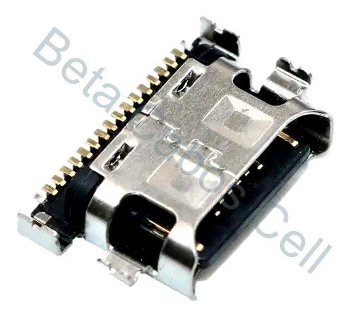 Conector Carga para Samsung A20 Tipo C Type C