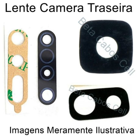 Lente Câmera Traseira Samsung J8 Plus