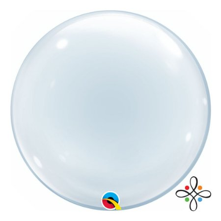 "Balão Bubble Clear - 20""/51cm"