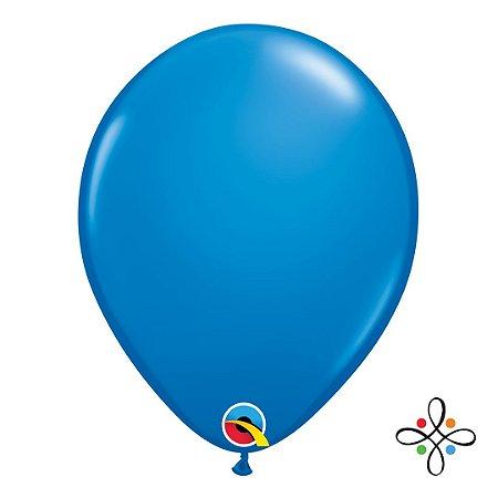 """Balão Opaco Azul Escuro - 11"""""""