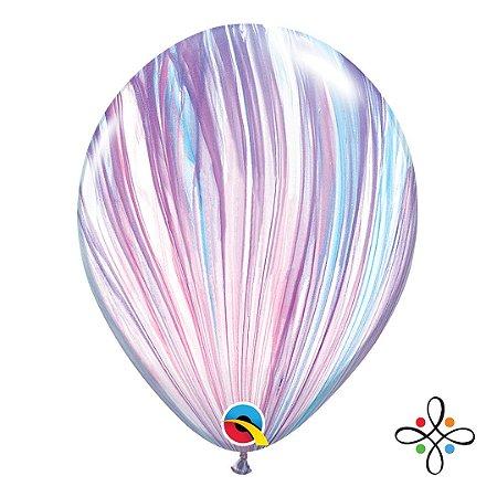 """Balão SuperAgate Moda - 11"""" Polegadas"""