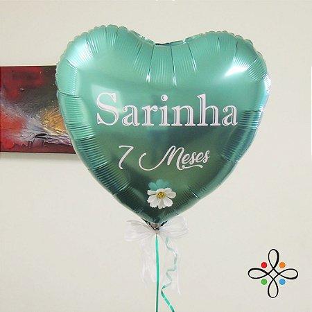 Balão Metalizado Personalizado (Coração, Estrela e Redondo)