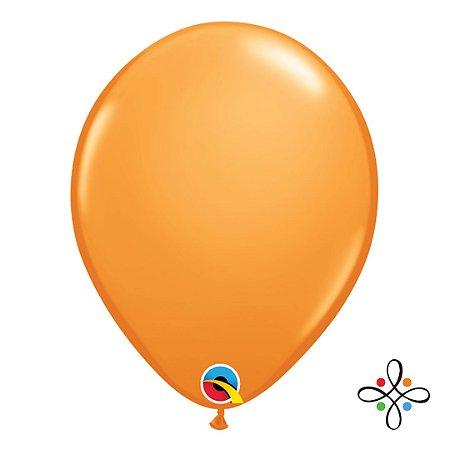"""Balão Opaco Laranja - 11"""""""