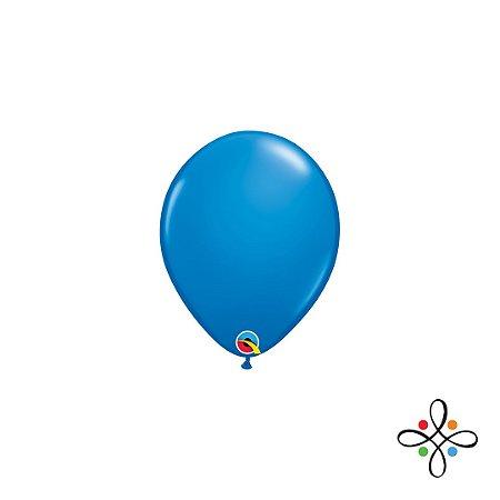 """Balão Opaco Dark Blue - 5"""""""