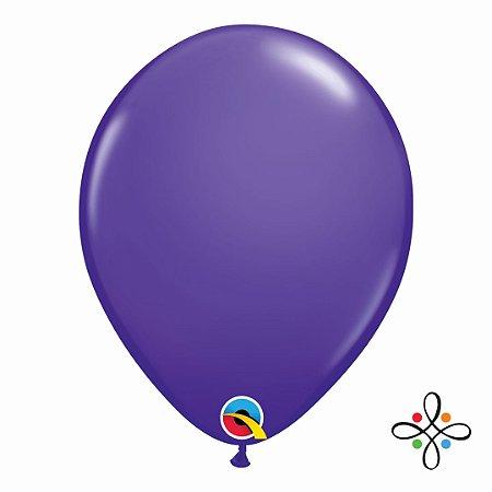 "Balão Opaco Purple Violet - 11"""