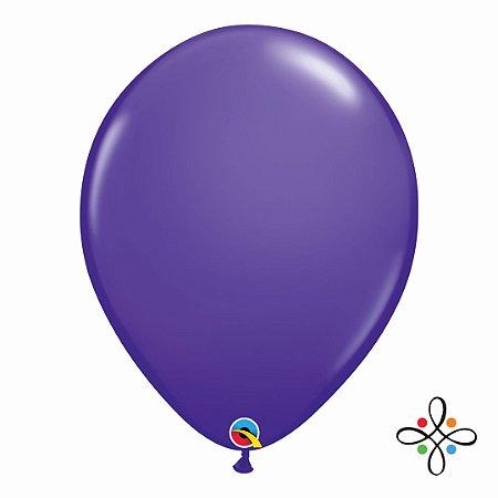 "Balão Opaco Purple Violet - 16"""
