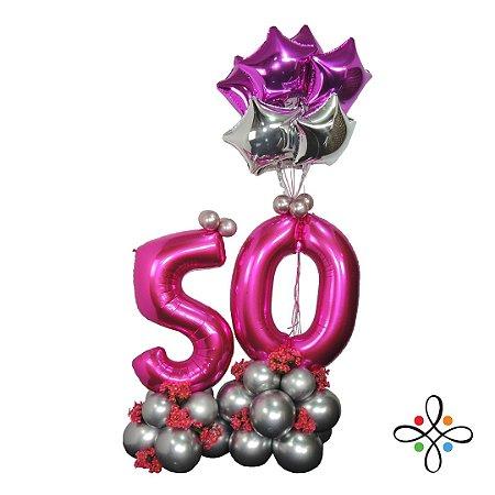Balões Personalizados (50 Anos)