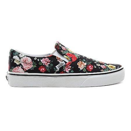 Tênis Vans Classic Slip On Floral