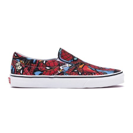Tênis Vans Slip On Marvel Spiderman
