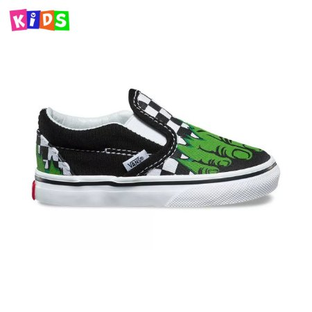 Tênis Vans Slip On Marvel Hulk Infantil
