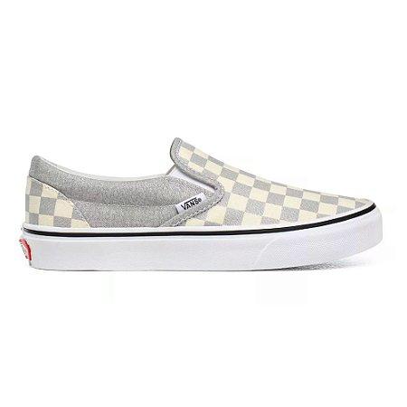 Tênis Vans Classic Slip On Silver True