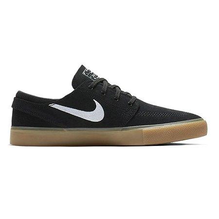 Tênis Nike Zoom Stefan Janoski RM Black/Gum