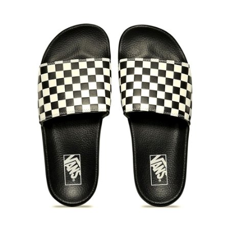 Chinelo Vans Slide On Checkerboard