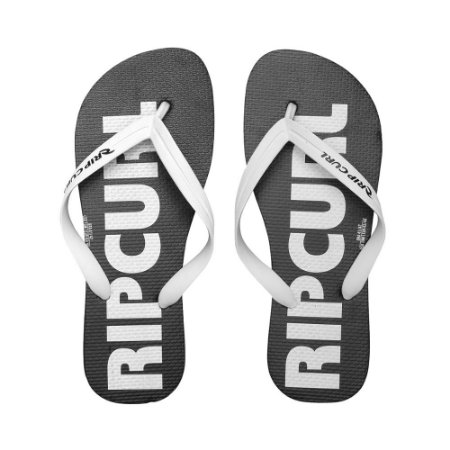 Chinelo Rip Curl Big Black/White