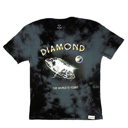 Camiseta Diamond World Is Your Wash