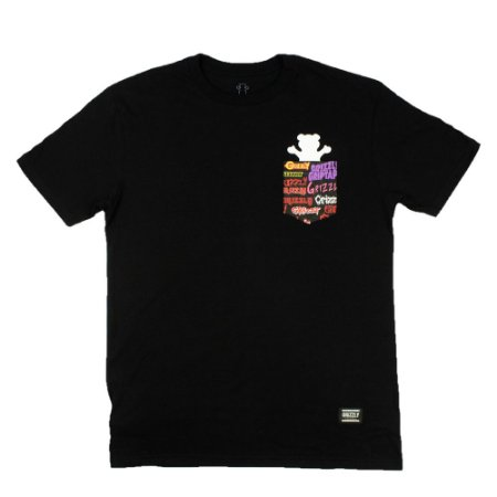 Camiseta Grizzly Pocket Bear