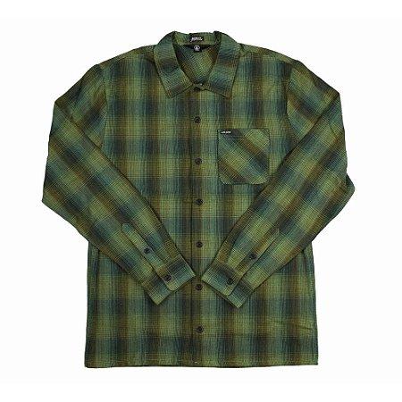 Camisa Manga Longa Volcom Flanders Flannel