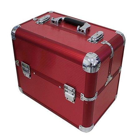 RY-012 Maleta para Maquiagem Vermelho