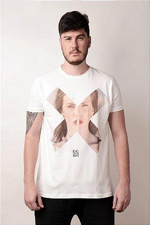 Camiseta X Branco
