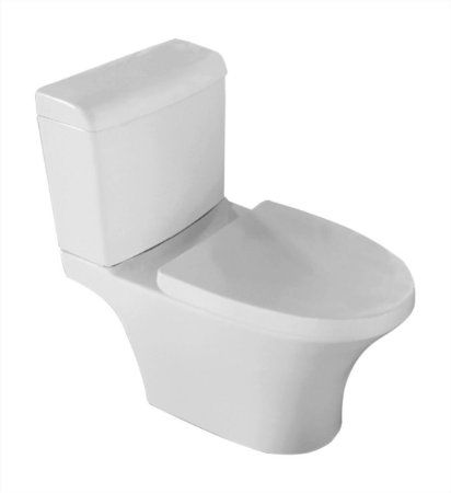 Vaso sanitário com caixa acoplada Modelo Riedo Fechamento suave