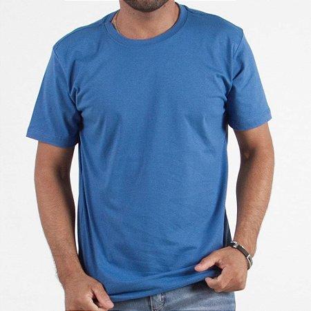 Camiseta Manga Curta Lisa - Kit Com 200 Unidades