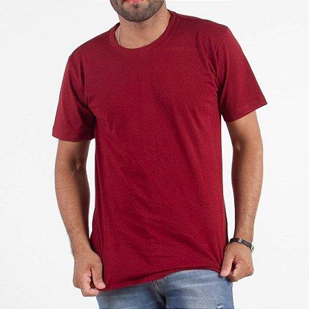 Camiseta Lisa 100% Algodão - Fio 30/1 Penteado - Caixa com 10 Peças