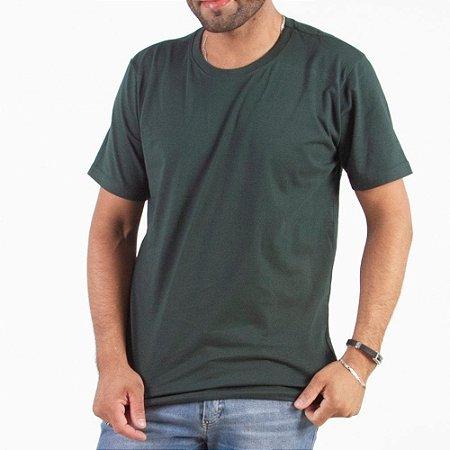 Camisetas Lisas Atacado 100% Algodão - Fio 30/1 Penteado - Caixa com 10 Peças