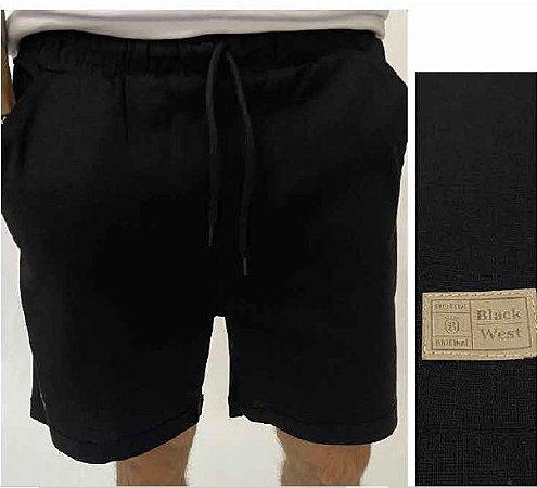Shorts Washed Preto
