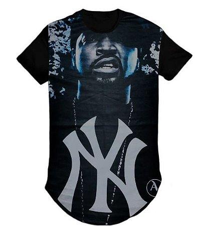 Camiseta Swag Long Line Oversized Blusa York- M