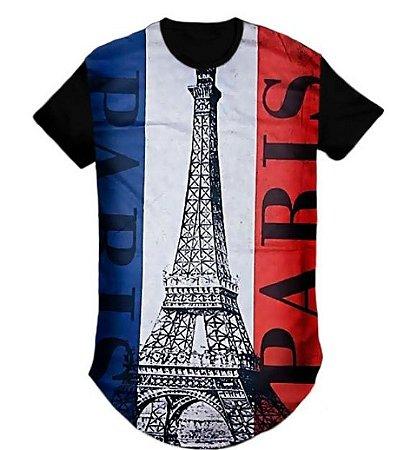 Camiseta swag  Longline  torre paris londres -M