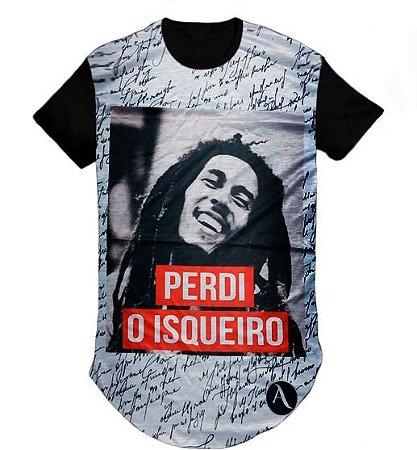 Camiseta Camisa Reggae Bob Marley LongLine Oversized Swag- M