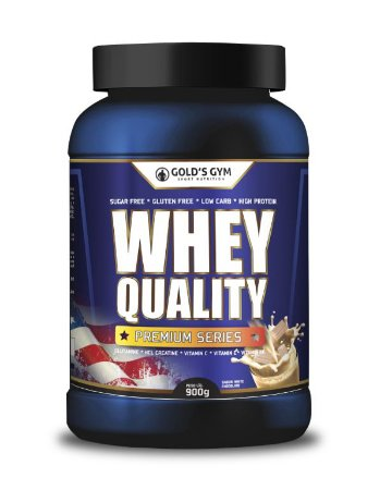 WHEY QUALITY - GOLD'S GYM 900G