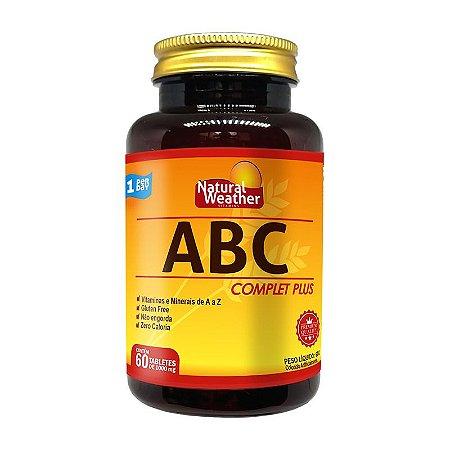 ABC COMPLET PLUS - Vitamina Multivitaminico Natural Weather 60 tablets