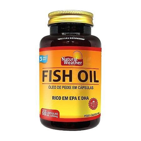 FISH OIL - ÔMEGA 3 - 60 SOFTGELS