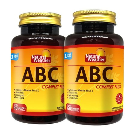 2 ABC COMPLET PLUS - 60 TABLETS