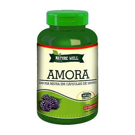 Amora Miura Alta concentração - Vitaminas e Minerais Nature Well 500mg