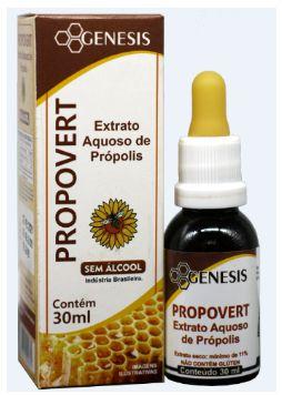 PROPOVERT - EXTRATO AQUOSO DE PRÓPOLIS - 30 ML
