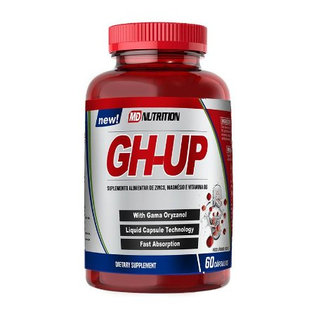 GH-UP 52g - Suplemento Alimentar Rápida absorção MD Nutrition 60 cápsulas
