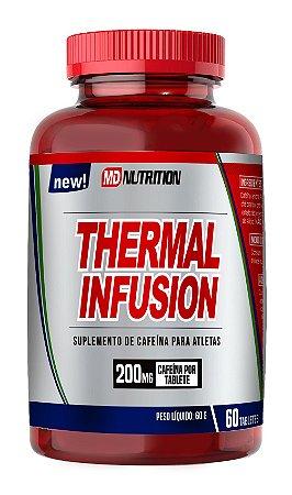 THERMAL Infusion MD Nutrition termogênico Cafeína por tablets 60 tablets de 200mg