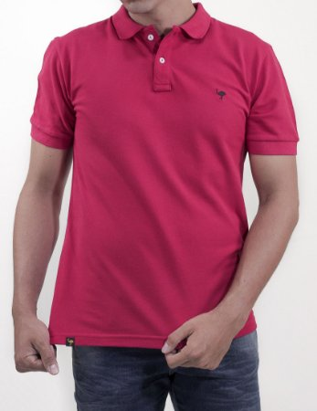 Polo Slim Fit Red