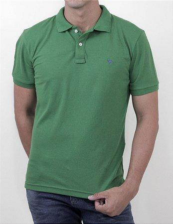 Polo Cerrado Brasil Slim Fit Green