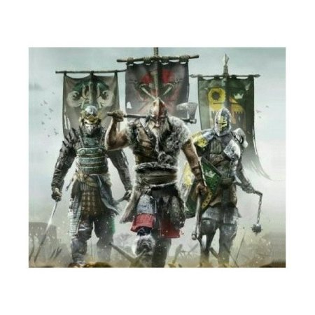 Mouse Pad Gamer Guerreiros Exbom 220x180x2mm - 2586
