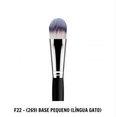 PINCEL F22 DAYMAKEUP - (269) BASE PEQUENO (LÍNGUA GATO)