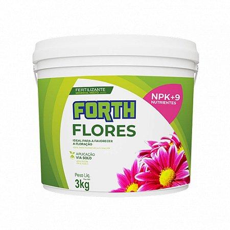 Forth Flores 3KG Fertilizante Farelado