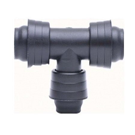 TE 16mm Com Anel Liso Para Irrigacao Para Fita Gotejadora