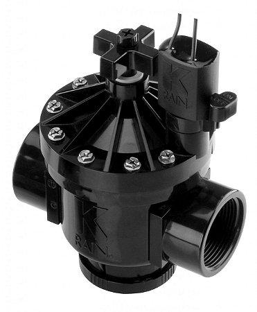 Valvula Eletrica Solenoide K-Rain PRO150 1 1/2 Polegada Normal Fechada