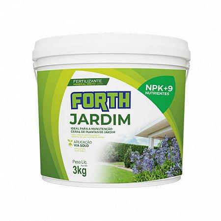 Forth Jardim 3KG Fertilizante Completo