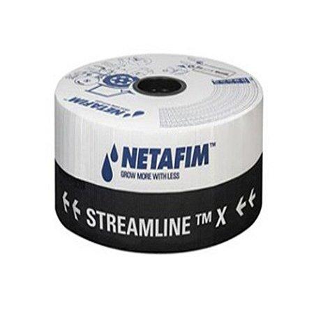 Mangueira Tubo de Gotejamento Netafim Streamline X 1,60 LH 20x20 CM   1000M