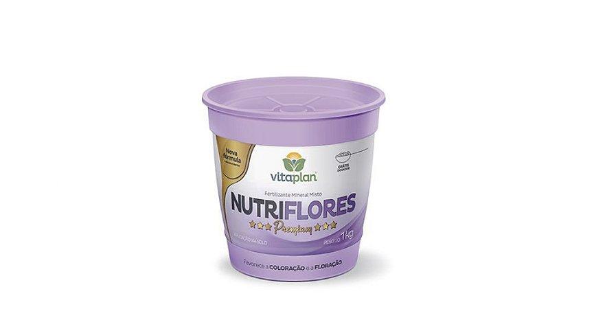 Fertilizante Mineral Misto Nutriflores 1 KG Nutriplan Premium